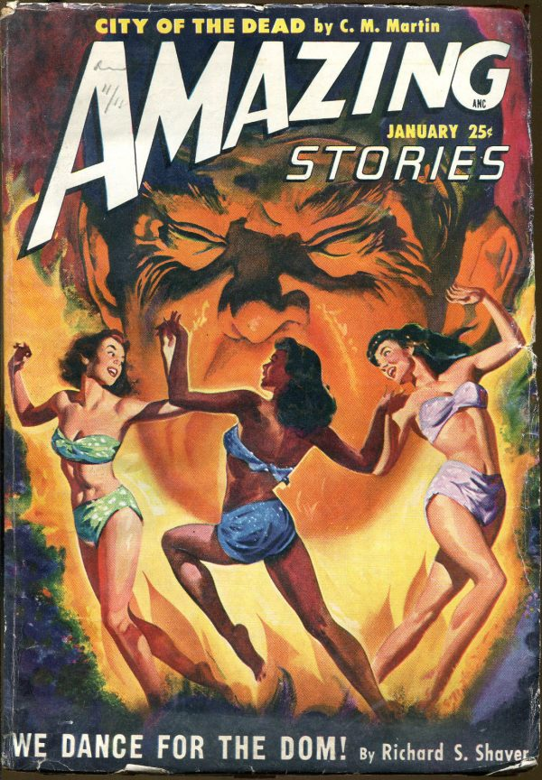 Amazing Stories January, 1950