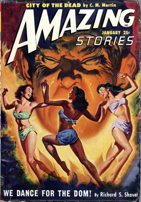 Amazing Stories Magazine January, 1950