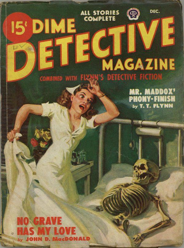 Dime Detective Magazine December 1948