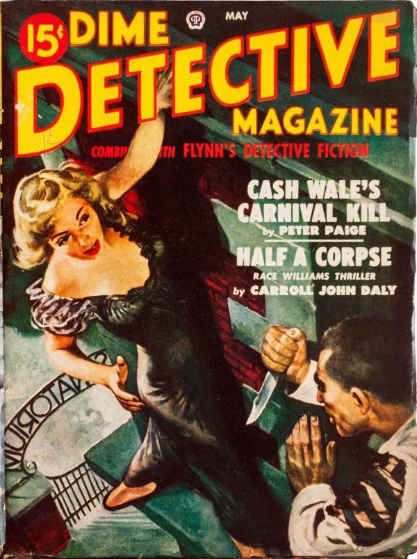 Dime Detective May 1949