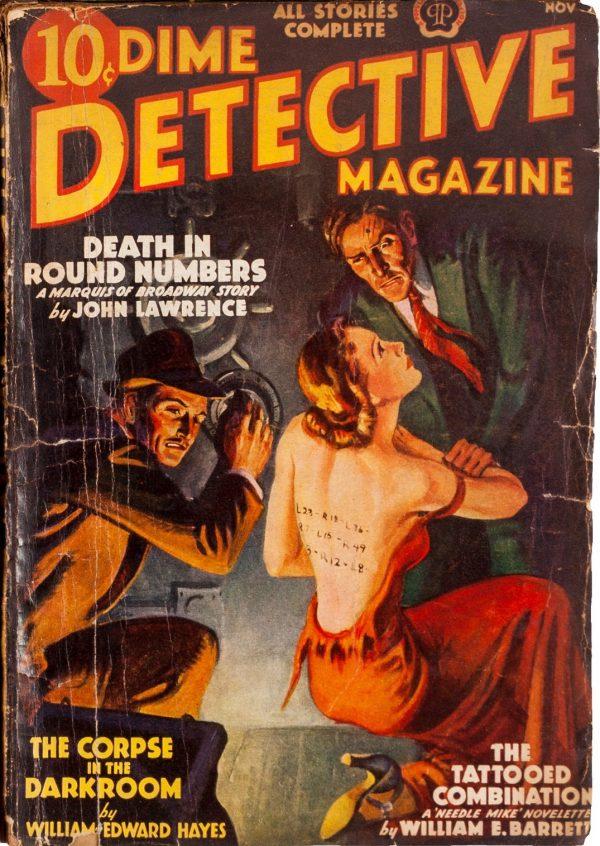 Dime Detective November 1938
