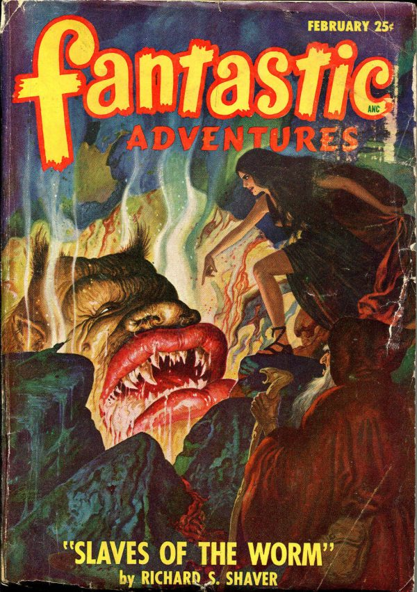 Fantastic Adventures February, 1948