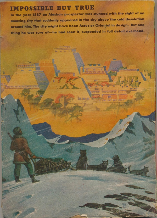 Fantastic Adventures February, 1948 Back