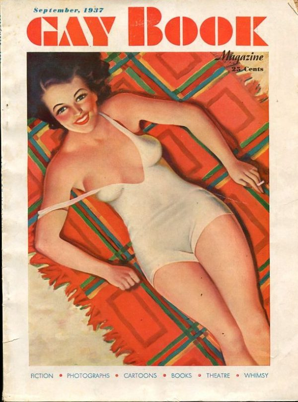 Gay Book September 1937
