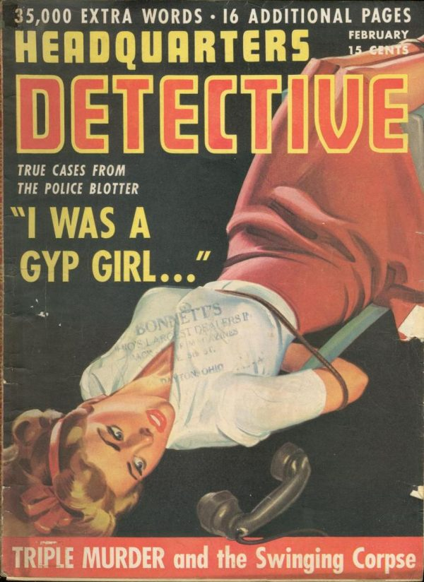 Headquarters Detective February 1943