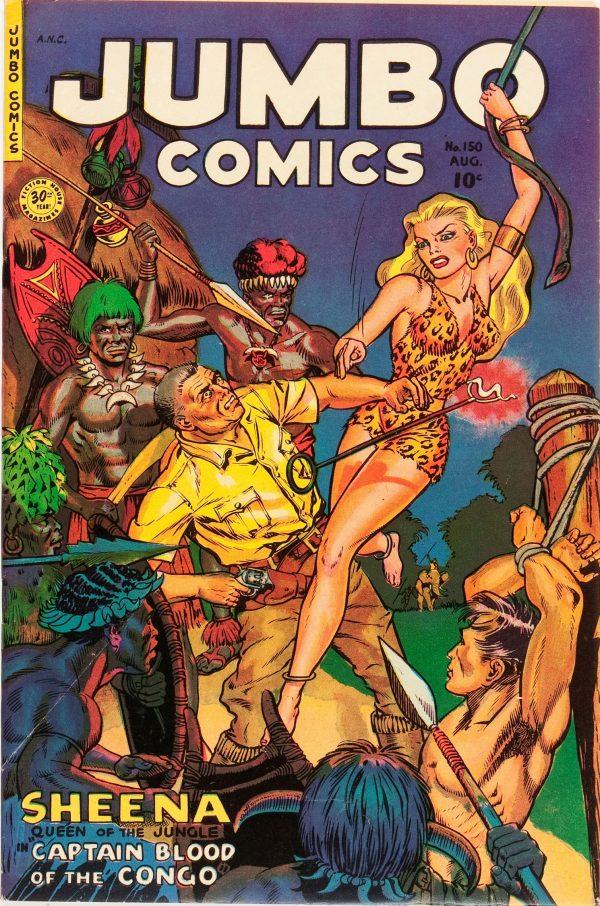 Jumbo Comics August 1951