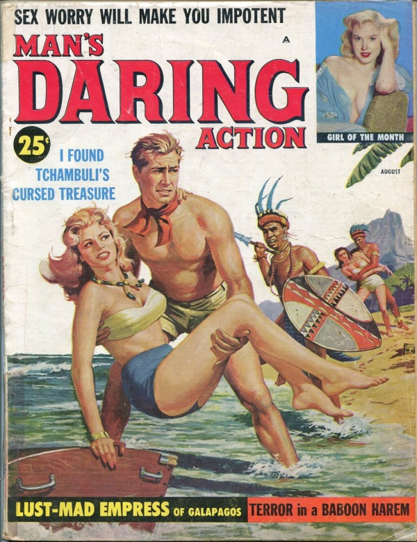 Man's Daring Action August 1959