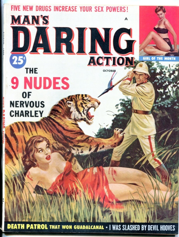 Man's Daring Action Issue #3 October 1959