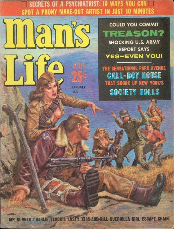 Man's Life January 1963