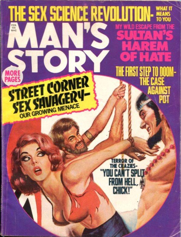 Man's Story February 1971
