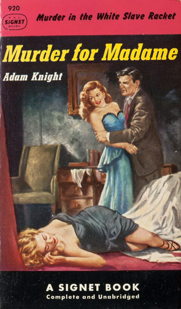 Murder for Madame Signet #920, 1952