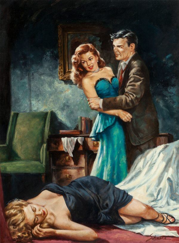 Murder for Madame by Adam Knight, Signet #920, 1952