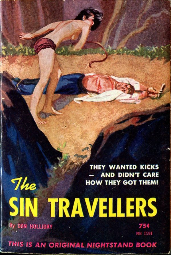 Nightstand Books NB1591 - The Sin Travellers (1962)