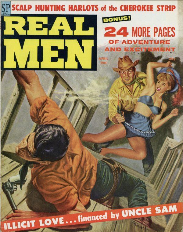 Real Men Magazine April 1959