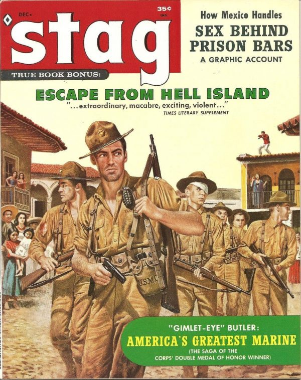Stag Men's Adventure Magazine December 1960