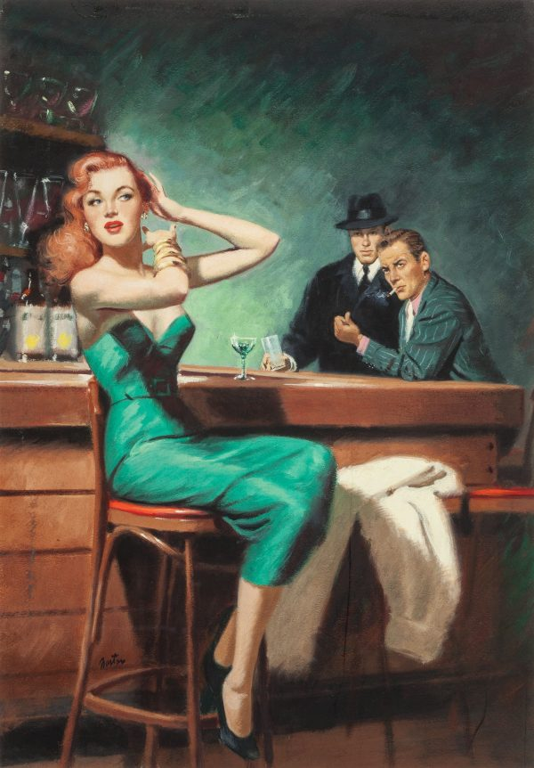 The Squeeze by Gil Brewer, Ace D-123, 1955