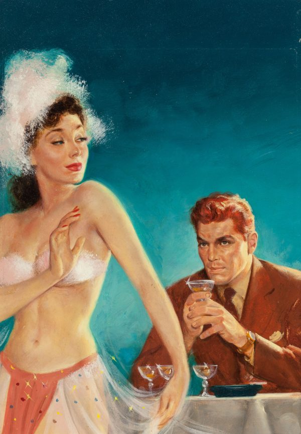 The Uncomplaining Corpses, paperback cover, 1950