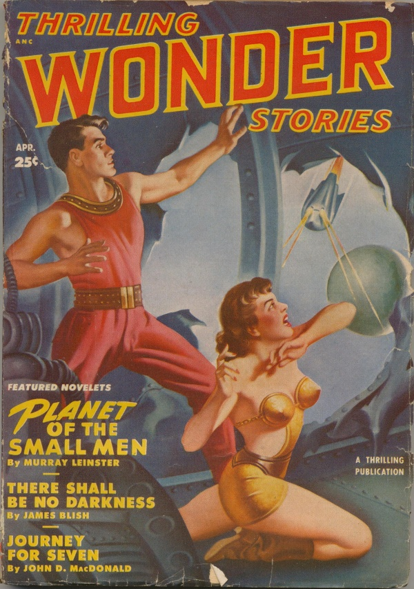 Thrilling Wonder Stories April 1950
