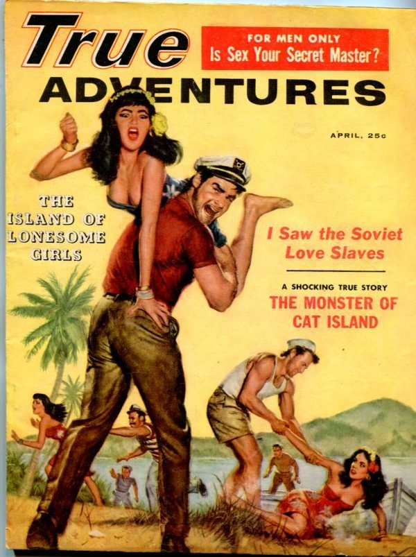 True Adventures April 1959