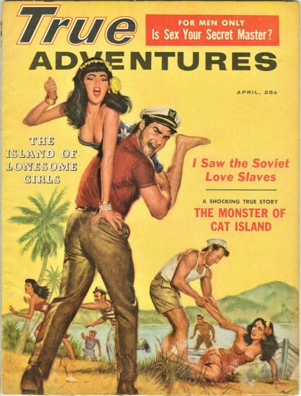 True Adventures Magazine April 1959