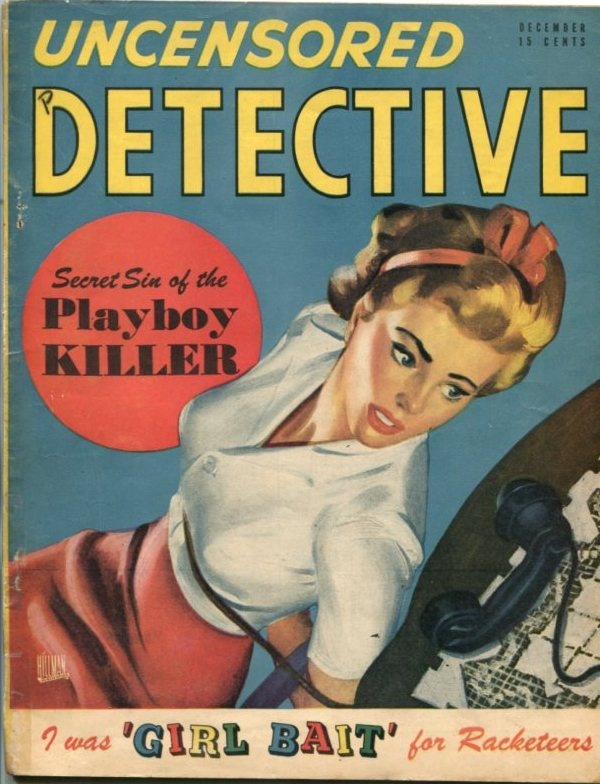 Uncensored Detective December 1947