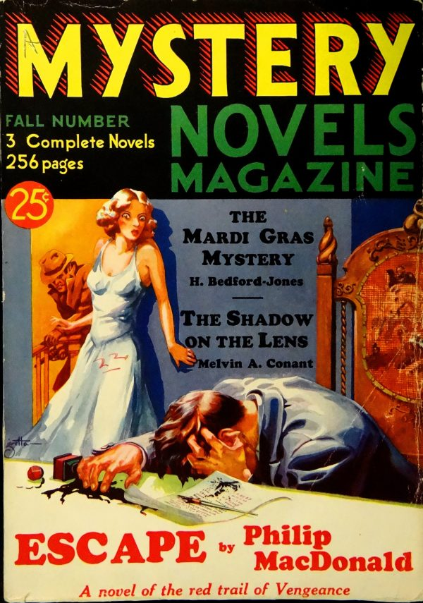 Mystery Novels Magazine No. 2 (Fall 1932).