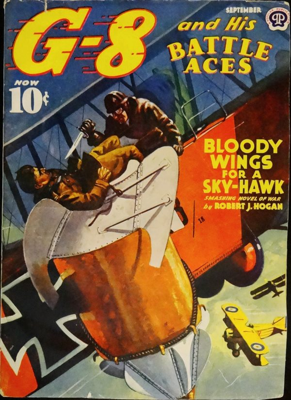 G-8 & His Battle Aces Vol. 21, No. 4 (Sept., 1940). Cover Art by John Fleming Gould