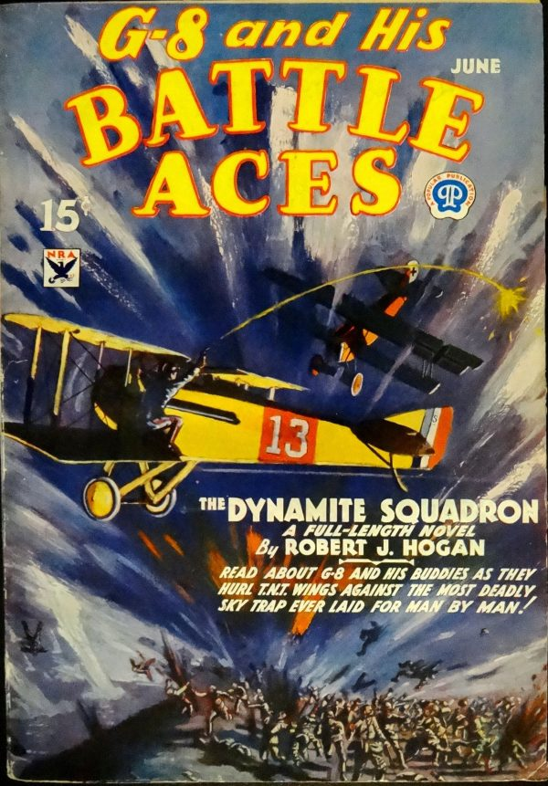 G-8 & His Battle Aces Vol. 3, No. 1 (June, 1934). Cover Art by Frederick Blakeslee