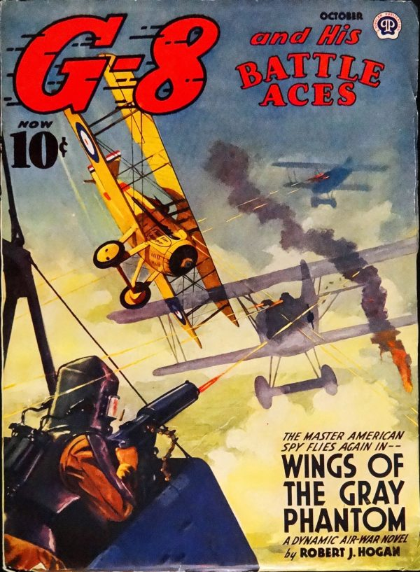 G-8 & His Battle Aces Vol. 25, No. 4 (Oct., 1942). Cover Art by John Fleming Gould