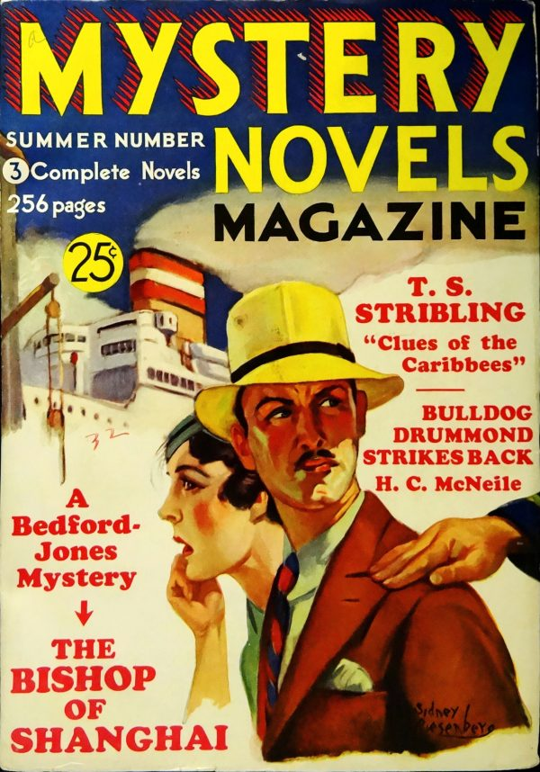 Mystery Novels Magazine No. 5 (Summer 1933).  Cover Art by Sidney Riesenberg