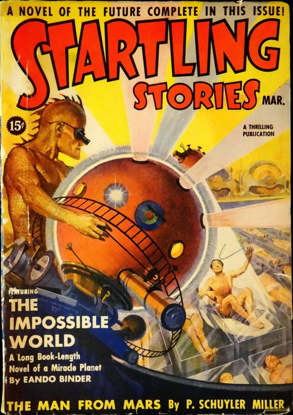 Startling Stories Vol. 1, No. 2 (March, 1939).