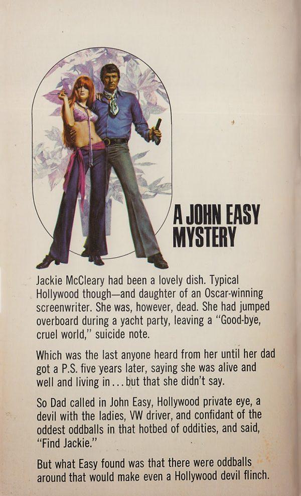 1971 Ron Goulart, Ace 36300, Back