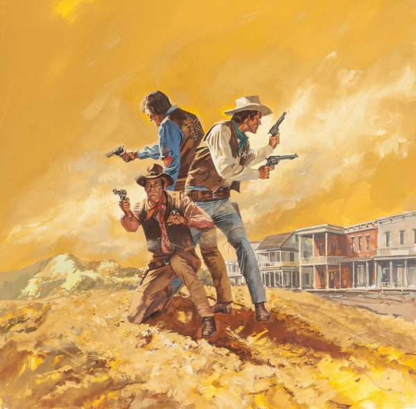 A Man Made for Trouble, paperback cover, 1976