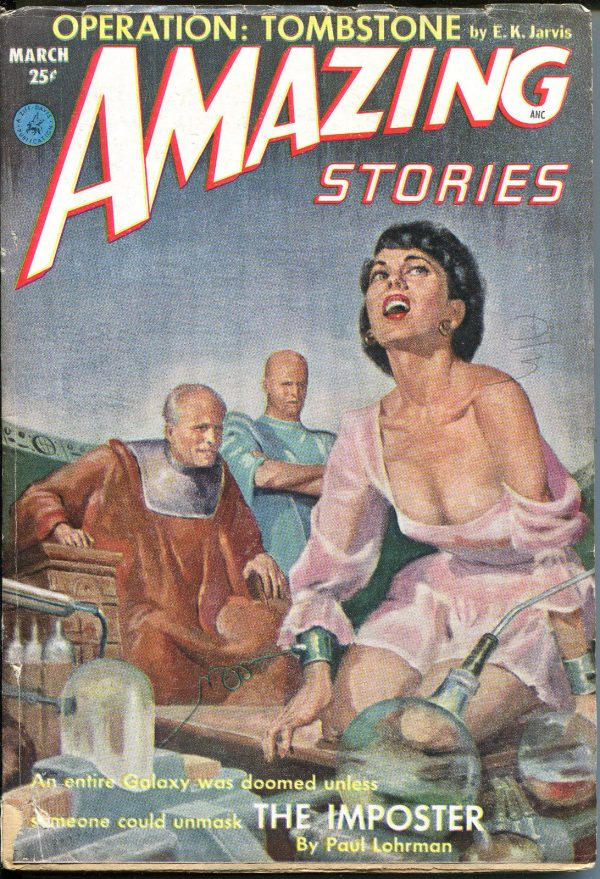 Amazing Stories March, 1953