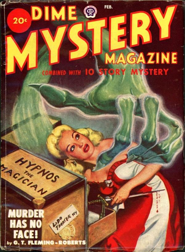 DIME MYSTERY. February 1949