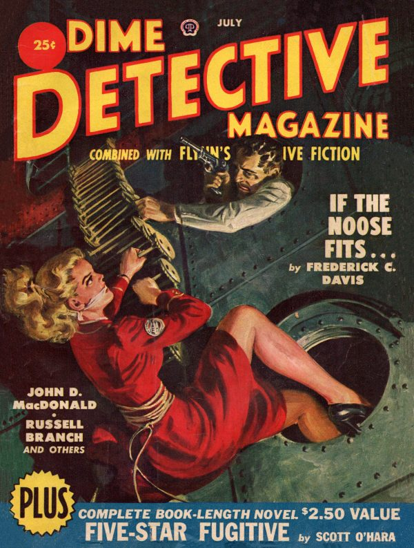 Dime Detective July 1950