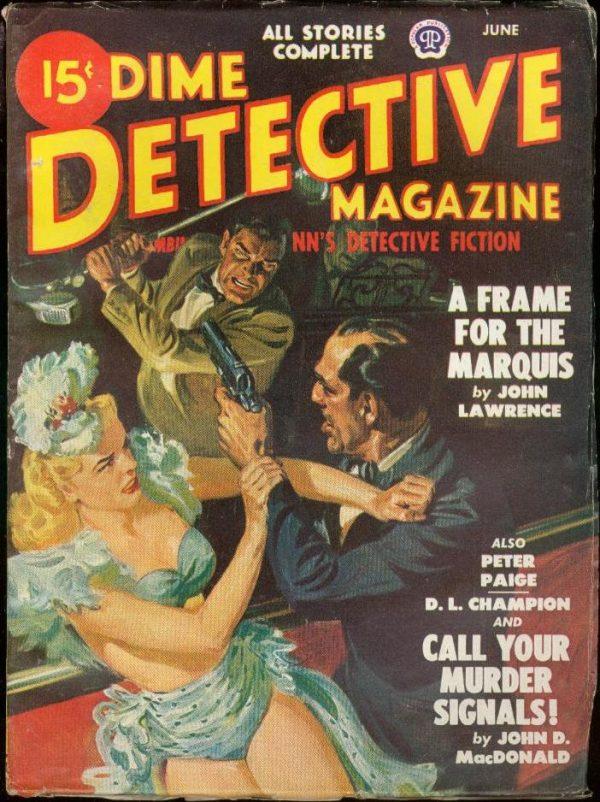 Dime Detective June 1948
