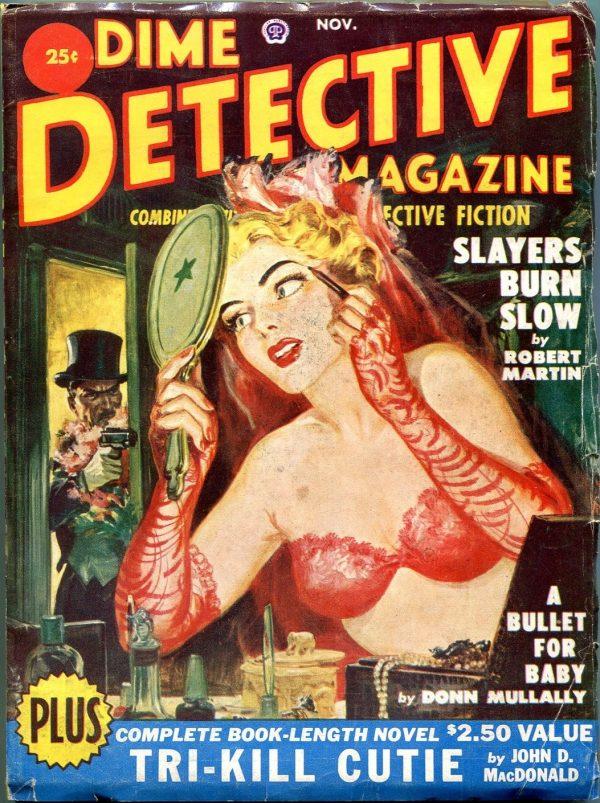 Dime Detective Magazine November 1950