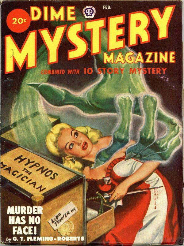 Dime Mystery Magazine February 1949
