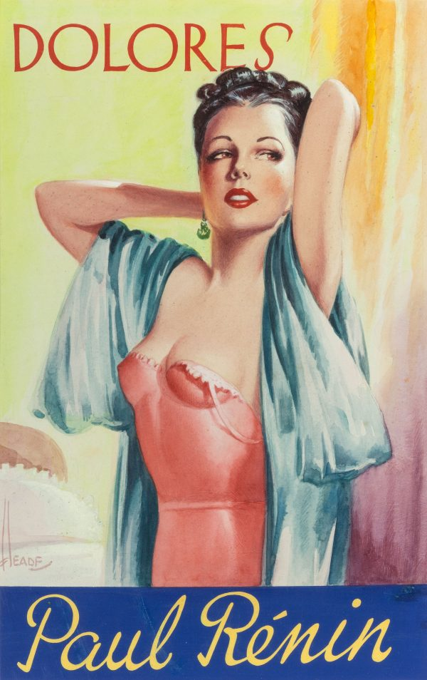 Dolores, probable book cover, 1940