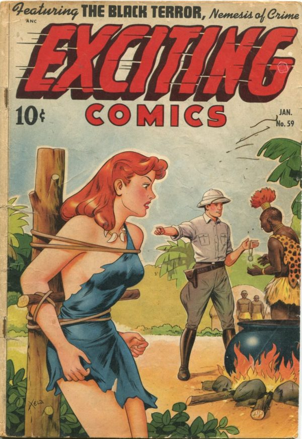 Exciting Comics Jan 1948