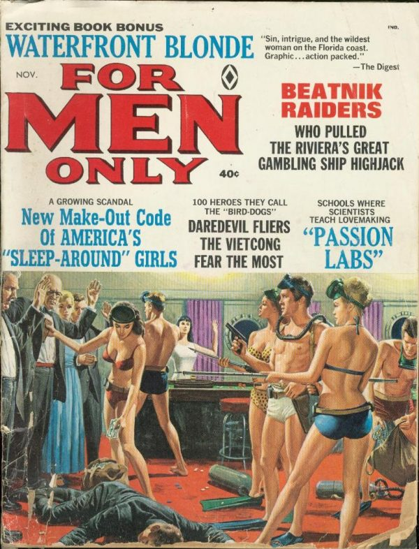 For Men Only November 1966