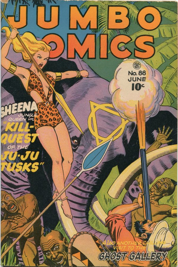 Jumbo Comics June 1946