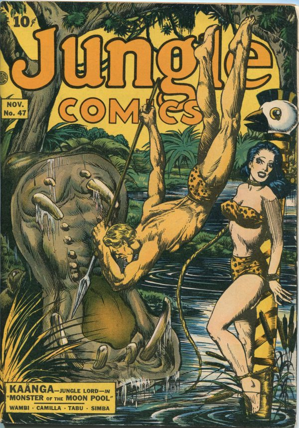 Jungle Comics November 1943