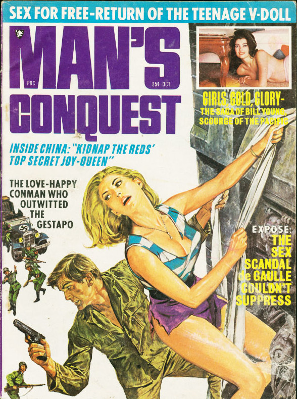MAN'S CONQUEST, October 1968
