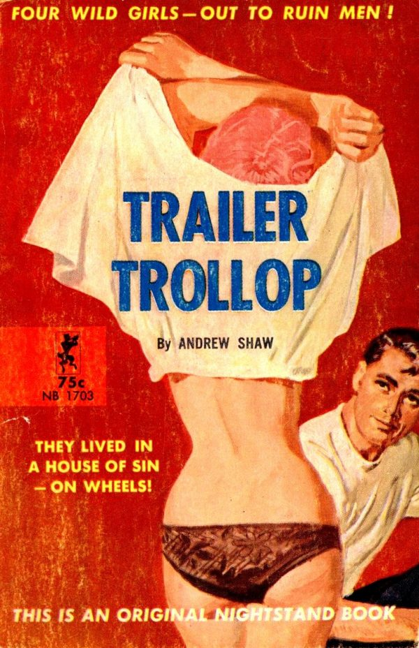 Nightstand Books NB1703 - Trailer Trollop (1964)