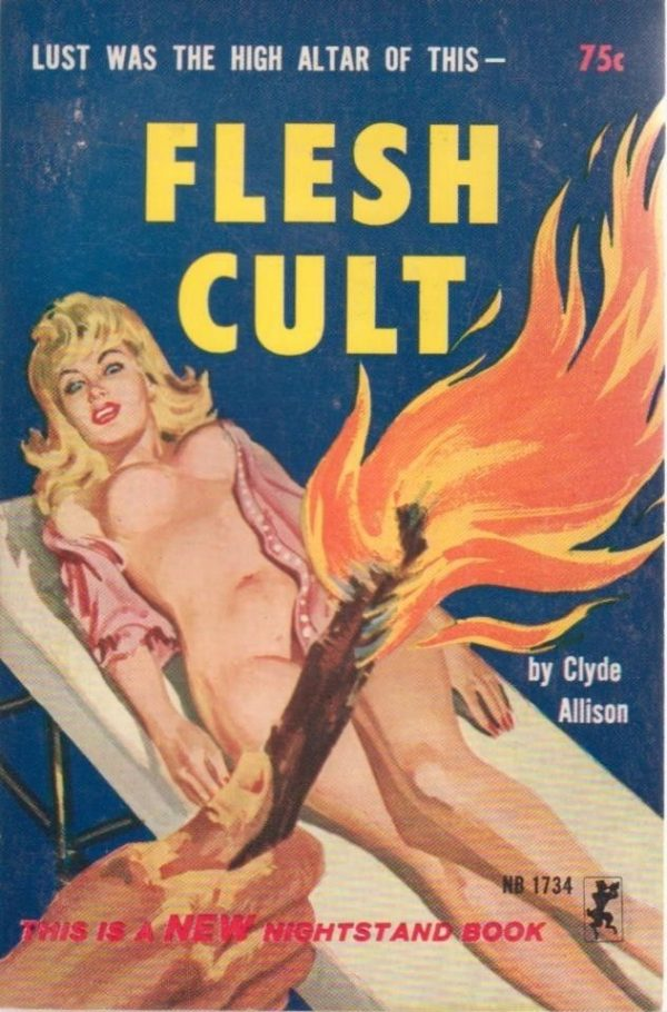 Nightstand Books NB1734 - Flesh Cult (1965)