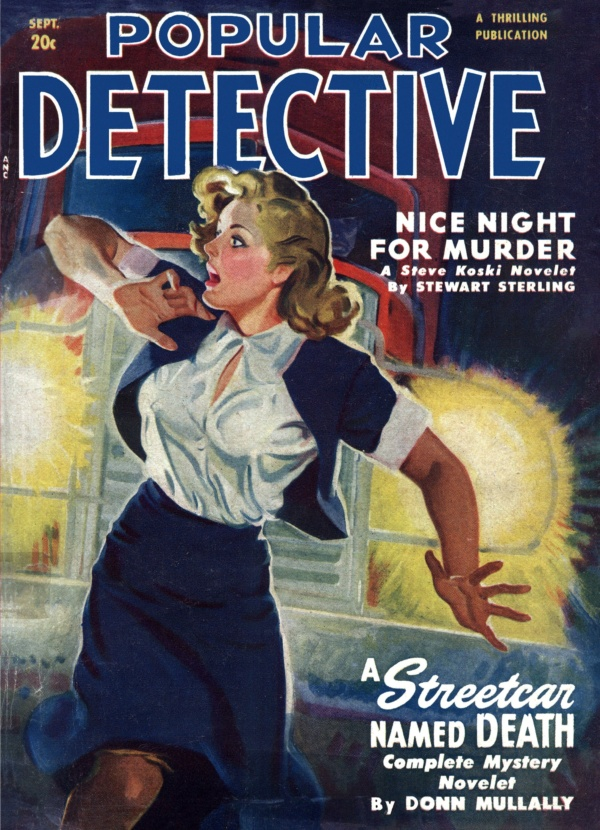 Popular Detective September 1950