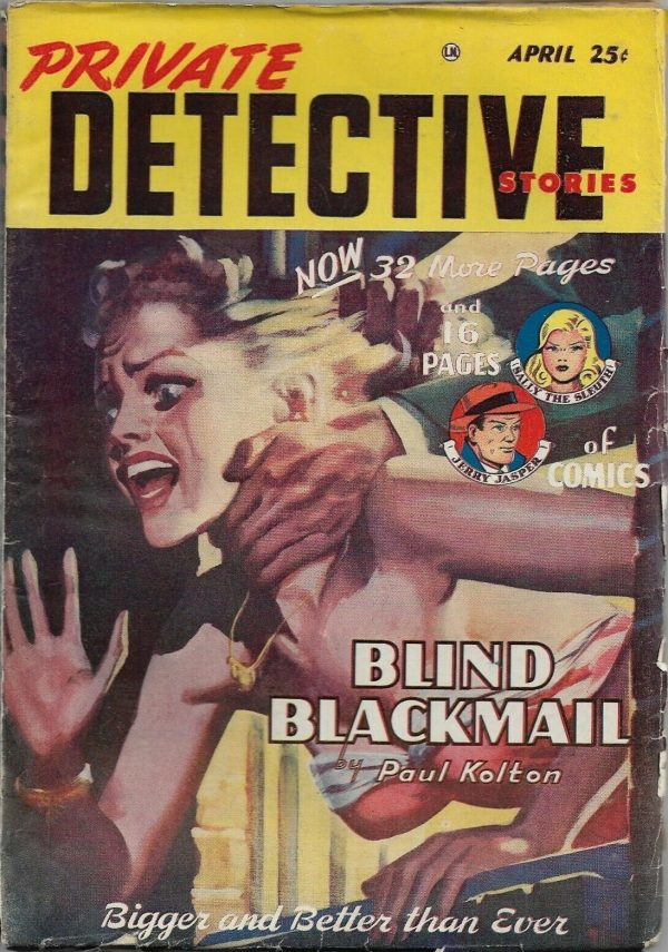 Private Detective Stories April 1949