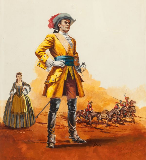 Ride the Red Earth, paperback cover, 1958